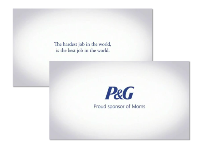P&G Olympics Thanks mum